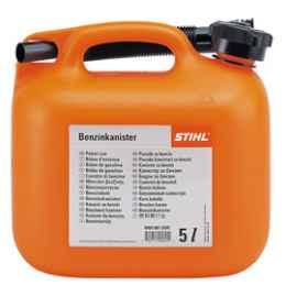Канистра для бензина STIHL, оранжевая,  5 л 00008810200
