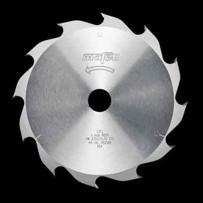 Диск пильный-HM, 237 x 1,8/2,5 x 30 мм, Z 12, WZ - 092590