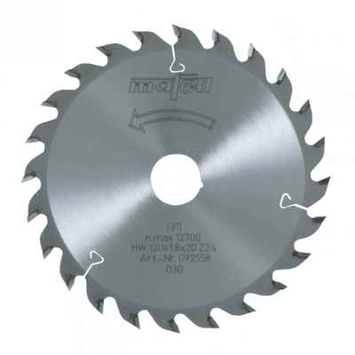 Пильный диск MAFELL HM 120 x 1,2/1,8 x 20 мм, 24 зуба, WZ - 092558