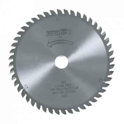 Пильный диск-HM 162 x 1,2/1,8 x 20 мм, 48 зубьев, WZ - 092584