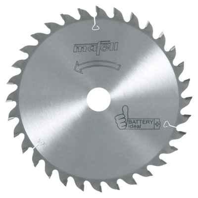 Пильный диск-HM 185 x 1,2/1,8 x 20 мм, 32 зубьев, WZ, Battery ideal - 092493