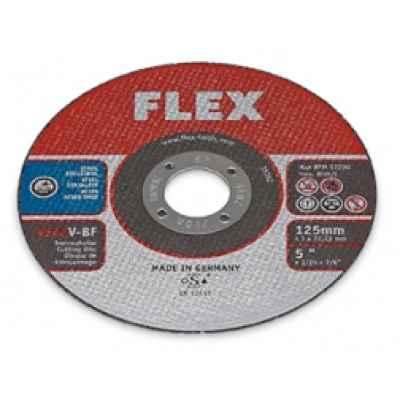 Режущий (отрезной) диск тонкий, нержавеющая сталь ? 125 мм FLEX 349.836