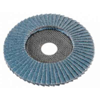 Лепестковый шлифовальный диск по металлу и нержавеющей стали ? 125, P 60, выпуклый FLEX 349.925