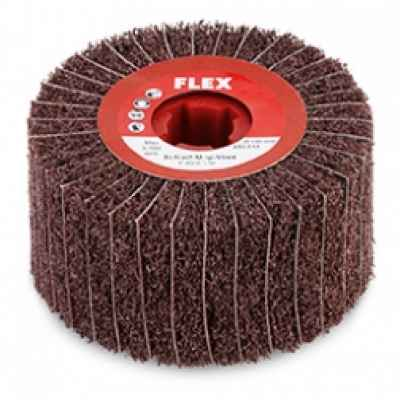 Шлифовальный наборный круг Mop с насадками из нетканого полотна P 150/A 280, ? 100 x 50 FLEX 250.516