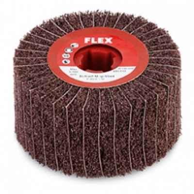 Шлифовальный наборный круг Mop с насадками из нетканого полотна P 80/A 160, ? 100 x 100 FLEX 256.977