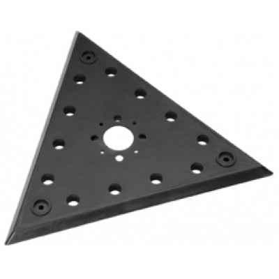 """Шлифовальная пластина с креплением на """"липучке"""", треугольная FLEX 354.988"""