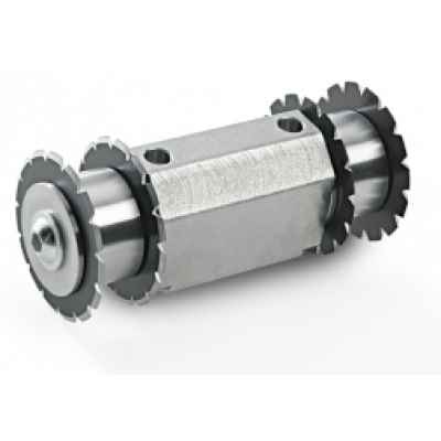 """Инструментальная головка """"Перфоратор"""" с долбяками из высококачественной быстрорежущей стали ? 80, M14 FLEX 366.757"""