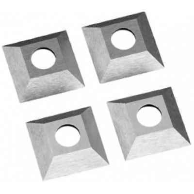 Поворотная режущая пластина из высококачественной быстрорежущей стали 1 комплект 21x21 (4 шт.) FLEX 241.091