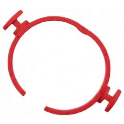 SH-FC 32 Быстродействующий пружинный зажим, красный FLEX 406.023
