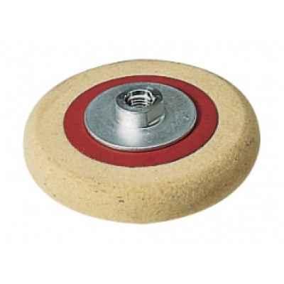 Фетровый тарельчатый круг с резьбовым фланцем M 14, ? 125 FLEX 122.726