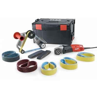 Ленточная машина для шлифования труб FLEX BRE 14-3 125 Set 230/CEE TRINOXFLEX 433.446