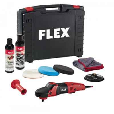 Полировальная машина с регулируемой частотой вращения и высоким крутящим моментом FLEX PE 14-2 150 Set 230/CEE POLISHFLEX 376.175