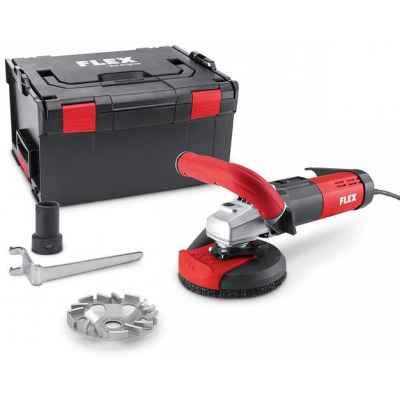 Компактная шлифовальная машина для санационных работ для близкой к краям беспыльной шлифовки FLEX LD 15-10 125 R, Kit TH-Jet 405.922
