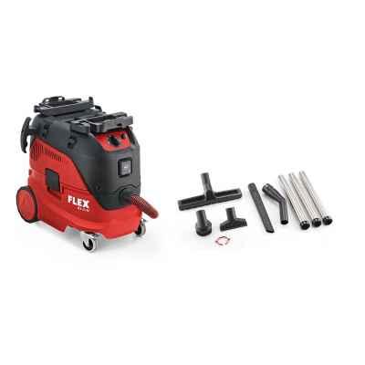 Безопасный пылесос с автоматической очисткой фильтра FLEX VCE 33 L AC-Kit 230/CEE, класс L 445.983 (СНЯТО)