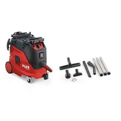 Безопасный пылесос с автоматической очисткой фильтра FLEX VCE 33 M AC-Kit 230/CEE, класс M 445.991 (СНЯТО)